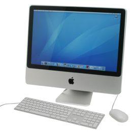 """iMac 20"""" Core2 2.4GHz יד שניה"""